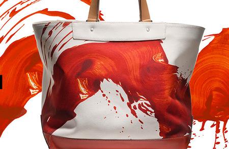 Bolsos con mucho arte, los de James Nares para Coach Primavera-Verano 2012