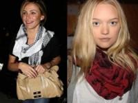 Las celebrities se rinden al pañuelo palestino