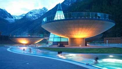 Aqua-Dome: spa termal en el Tirol