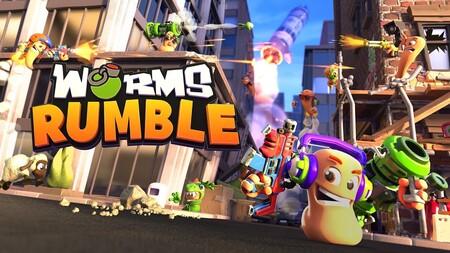 Worms Rumble inicia una beta abierta para participar en sus locas batallas en forma de Battle Royale