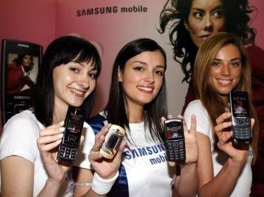 Samsung SGH-E500, móvil diseñado para mujeres