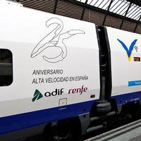 Aniversario Renfe: 25.000 billetes a 25 euros el viernes 25 de agosto