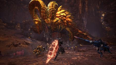 Los Dragones Ancianos Kulve Taroth y Namielle volverán a la carga en Monster Hunter Wold: Iceborne con la actualización 13.5