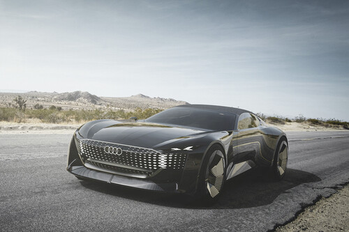 Audi Skysphere: así es el auto conceptual que promete conducción autónoma total y hasta esconde el volante cuando no quieres manejar