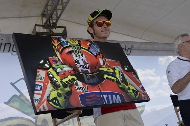 Valentino Rossi, Indianápolis 2012