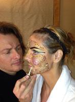 Impresionante look el de Heidi Klum disfrazada de Cleopatra