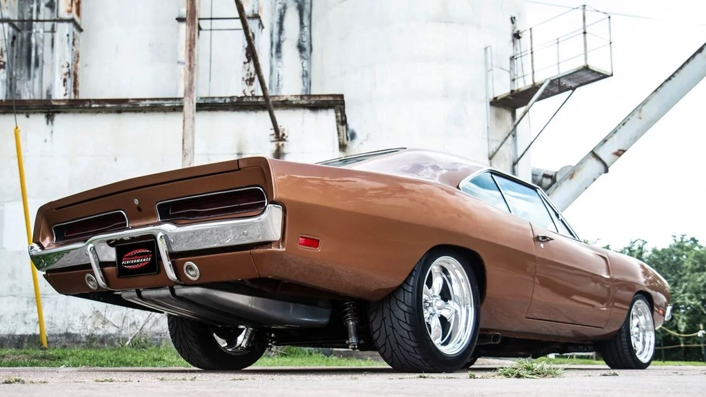 Dodge Charger Hellcat 1969 4