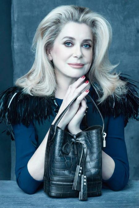 Catherine Deneuve Louis Vuitton verano 2014