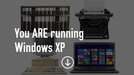 Estás usando Windows XP