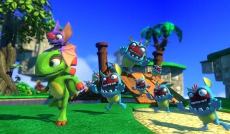 Yooka-Laylee, el juego de los creadores de Banjo Kazooie logra todas sus metas de Kickstarter