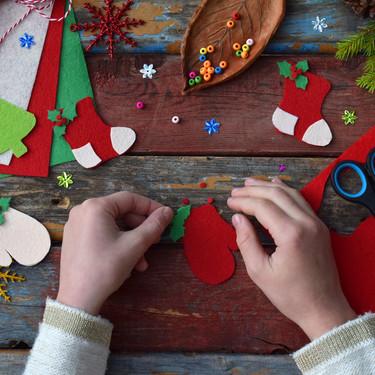 Cinco actividades navideñas de inspiración Montessori para hacer con los niños