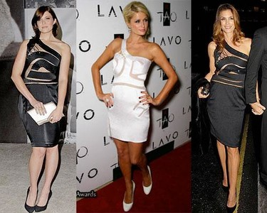 Vestido de Preen: ¿Paris, Cindy o Mandy?