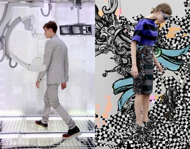 La fantasía de Prada junto a AMO en el lookbook Primavera-Verano 2011