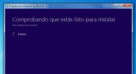 Asistente de actualización a Windows 8
