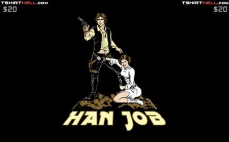Han Job T-Shirt Hell