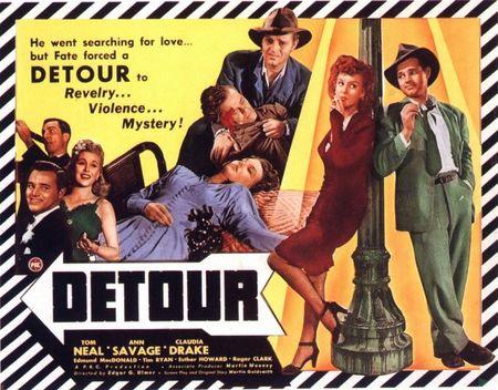 Film Noir: 'Detour' de Edgar G. Ulmer
