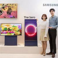 Samsung lanza The Sero, una tele vertical en la que quiere que veamos contenido como lo vemos (y grabamos) en el móvil