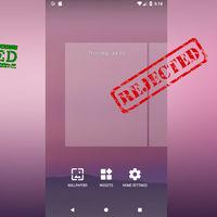 Android P ya no permite reordenar las páginas de inicio