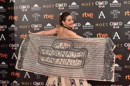 La gala de los Premios Goya se llenará de abanicos rojos para reivindicar más presencia femenina en el cine español