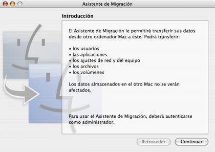 Asistente de migración