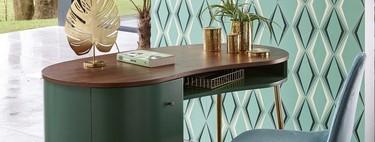 Estas son las mesas de escritorio más bonitas que hemos encontrado para montar un rincón de teletrabajo en casa