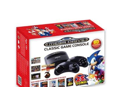 La Sega Mega Drive también podría volver; llegaría en octubre con 80 juegos pre-cargados y retrocompatible con los antiguos