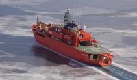 Mediciones del grosor del hielo antártico con tecnología láser