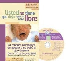 Libro + CD para ayudar a dormir al bebé sin llorar