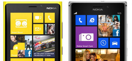 Frontal Lumia 920 vs Lumia 925