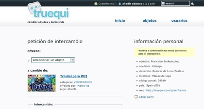 Truequi, el trueque en la web 2.0