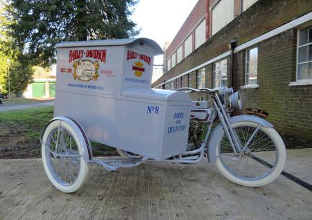 Harley Davidson Sidecar 1916 Subasta 1