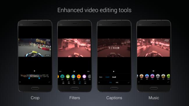 Miui 8 Video Editing