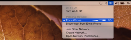apple macbook personal hotspot