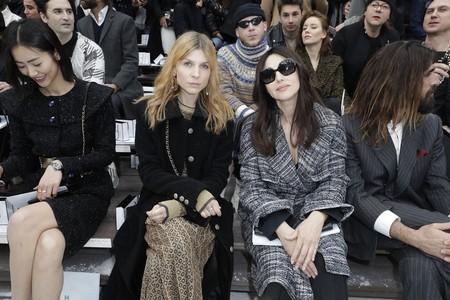 Clémence Poésy y Monica Bellucci chanel otoño invierno 2020