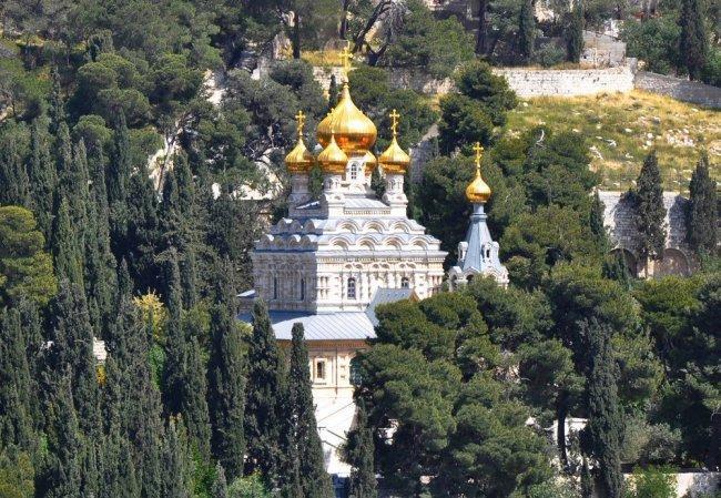 Iglesia ortodoxa Monte de los Olivos