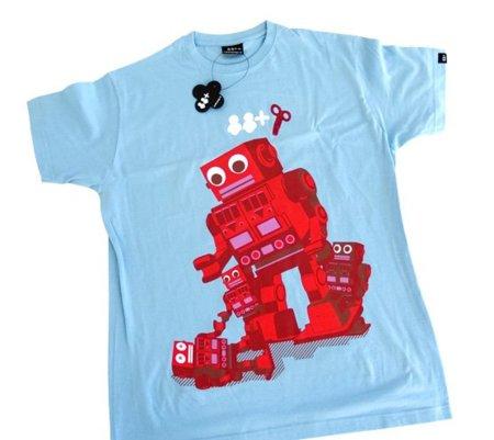 Camiseta Robotes de Lasdosyalgo