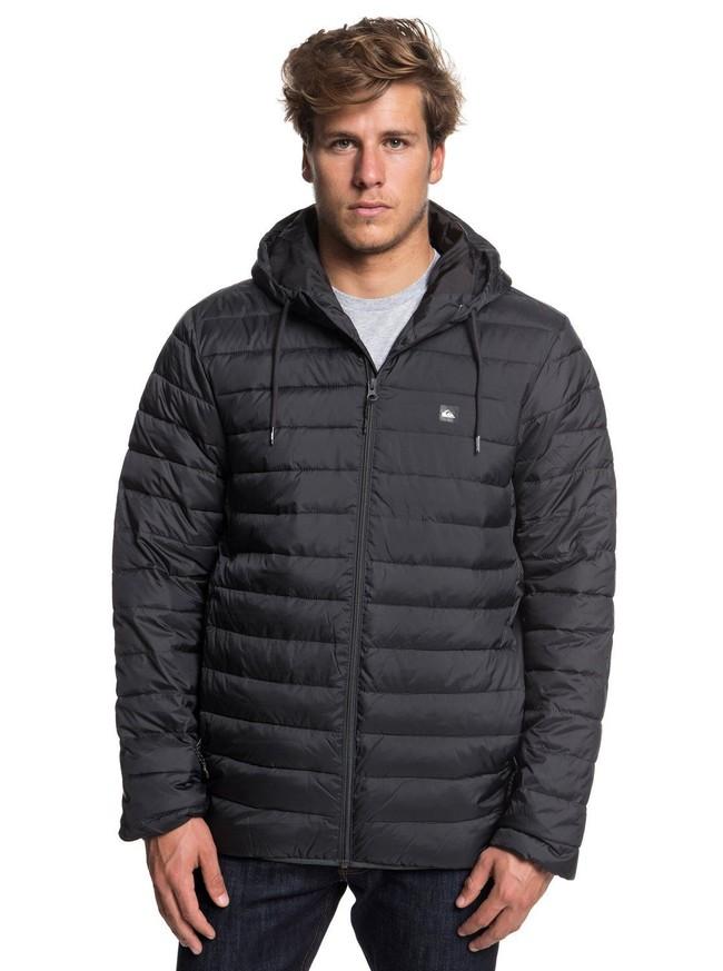 Nuevos Deals en eBay: chaqueta Quiksilver Everyday Scaly en negro por sólo 40 euros y envío gratis
