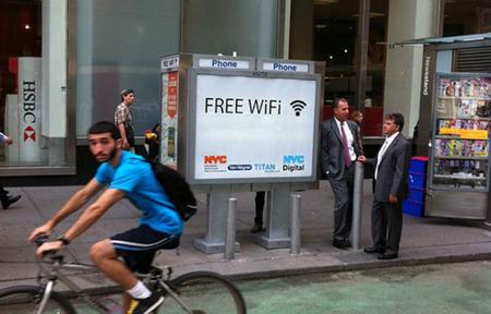 Nueva York convertirá las cabinas de teléfono en zonas WiFi gratuitas