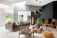 Casas preciosas: decoración sencilla con toque mostaza