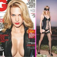 January Jones muy sexy en la portada de GQ