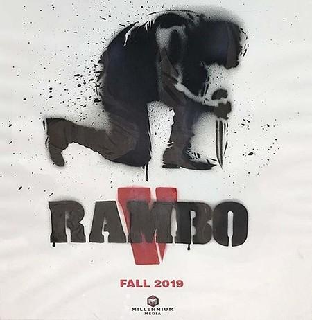 Cartel provisional de Rambo 5