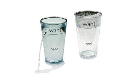 Bebe sólo lo que necesitas