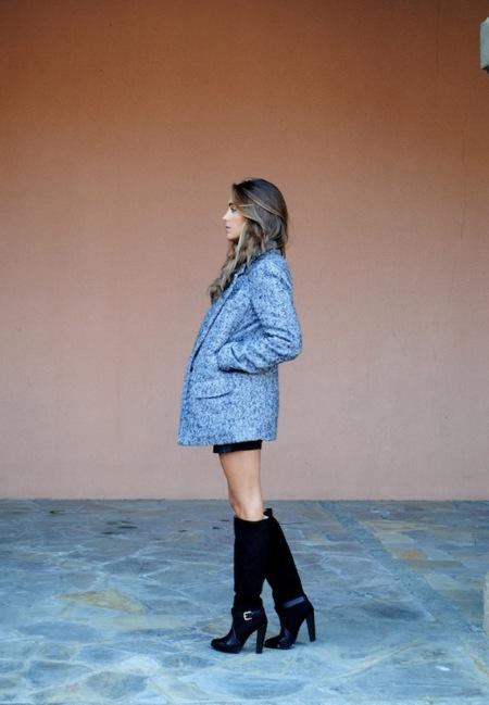 Abrigos oversize: dale un punto masculino a tu outfit femenino