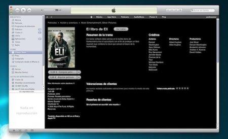 ¡Ya es oficial! Las películas llegan a la iTunes Store española