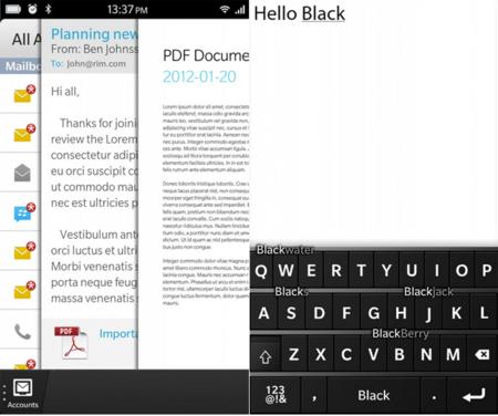 BlackBerry 10, RIM nos muestra su nuevo sistema operativo móvil