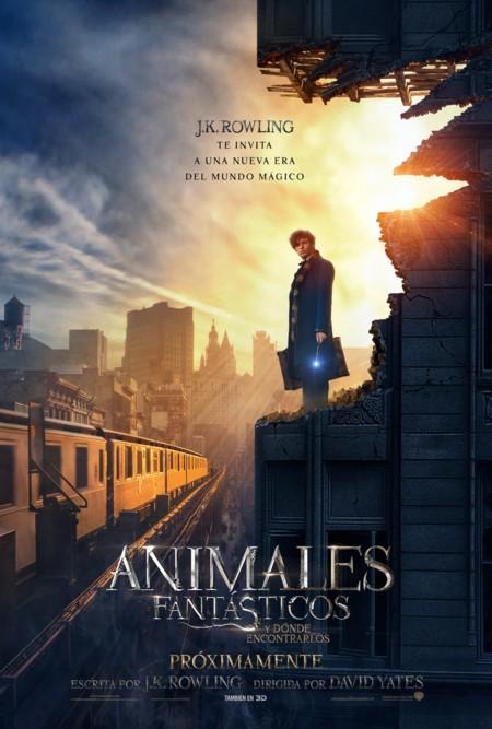 Nuevo cartel de Animales Fantasticos Y Donde Encontrarlos