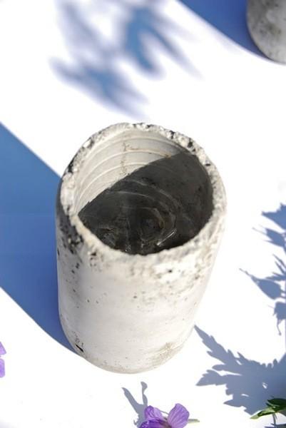 jarrones cemento 2