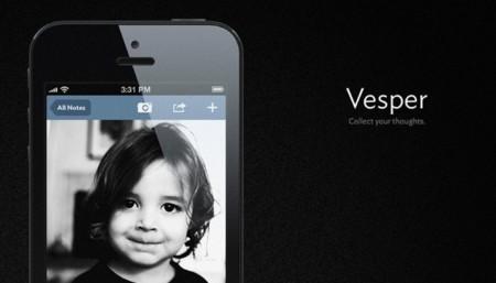 Vesper, una nueva app de notas para iOS que llega de la mano de John Gruber