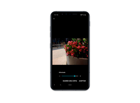 Lg G8s Thinq Int Cam Ajustar Desenfoque