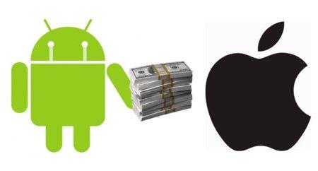 Apple podría ofrecer un acuerdo a los fabricantes de Android cobrándoles hasta 15 dólares por dispositivo vendido